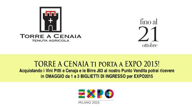 TORRE A CENAIA ti porta a EXPO 2015