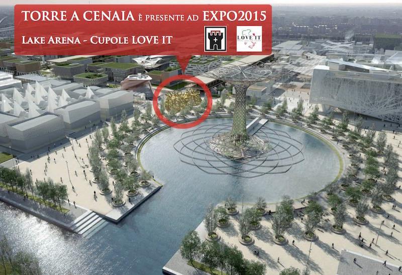 Torre a Cenaia ad Expo2015