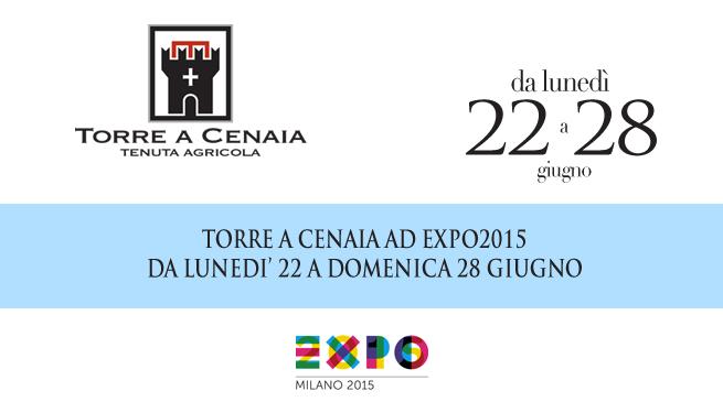 Torre a Cenaia a EXPO2015