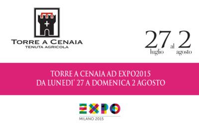 Torre a Cenaia EXPO 2015 – dal 27 luglio al 2 agosto
