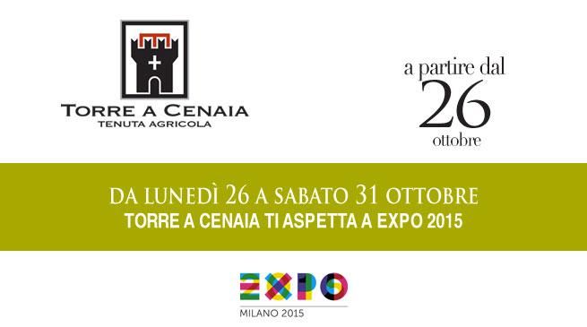 Da lunedì 26 a sabato 31ottobre Torre a Cenaia ti aspetta ad EXPO2015