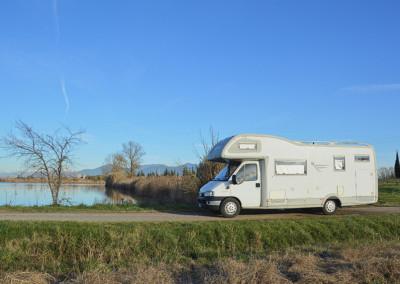 Camper-lago
