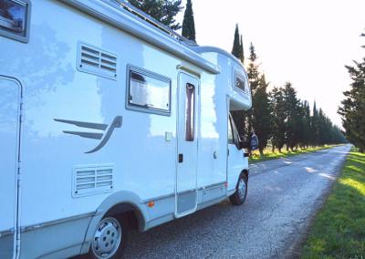 Camper-viale
