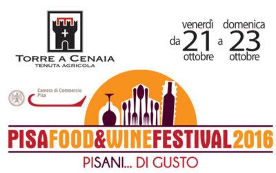 PISA FOOD&WINE FESTIVAL 2016