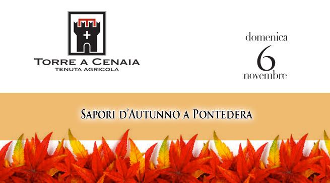 Domenica 6 Novembre – Sapori d'Autunno a Pontedera