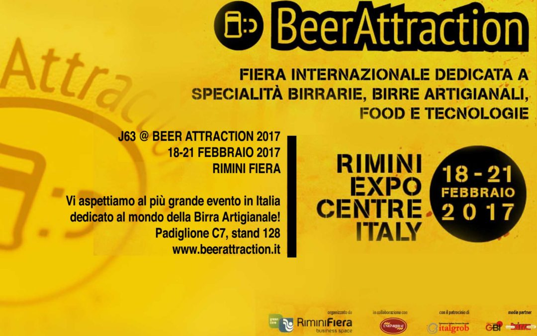 J63 @ BEER ATTRACTION 2017