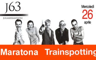 Mercoledì 26 aprile – Maratona Trainspotting… a tutta birra J63