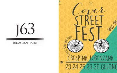 Dal 16 al 18 Giugno:  Cover Street Fest