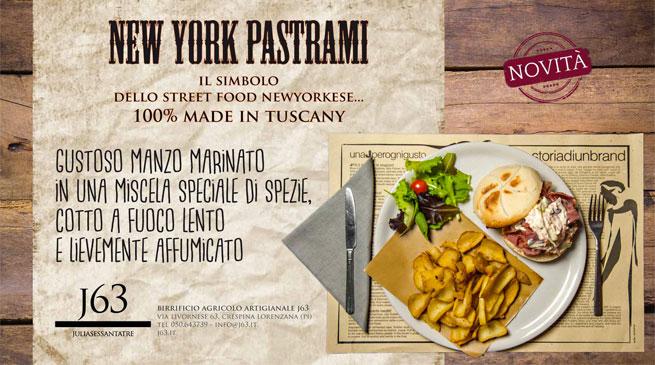 Al Birrificio: Pastrami, libidinoso street food