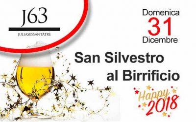 Domenica 31 dicembre 2017 – San Silvestro al Birrificio
