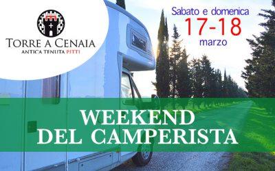 Sabato 14 e domenica 15 aprile – Weekend del Camperista