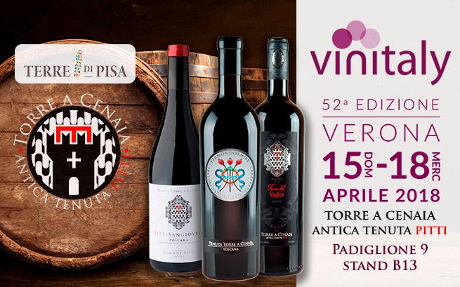Domenica 15 – mercoledì 18 aprile 2018. Vinitaly