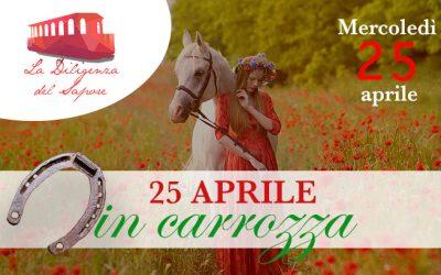 Mercoledì 25 aprile 2018 – Festa della Liberazione in carrozza