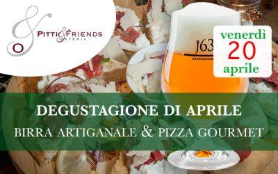 Venerdì 20 aprile – Birra Artigianale & Pizza Gourmet, Degustagione con Simone Cantoni