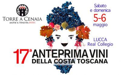 Sabato 5 e domenica 6 maggio 2018 – 17° Anteprima Vini della Costa Toscana