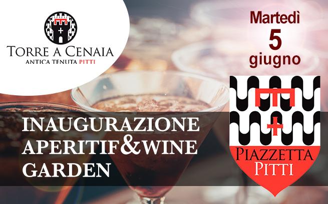 Martedì 5 giugno 2018 – Inaugurazione Piazzetta Pitti Aperitif & Wine Garden