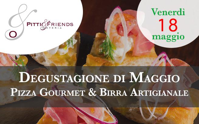 Venerdì 18 maggio – Pizza Gourmet & Birra Artigianale, Degustagione con Simone Cantoni