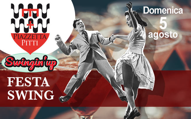 Domenica 5 agosto 2018, Festa swing con Swingin'Up