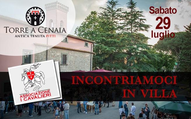 Sabato 28 luglio 2018 – Incontriamoci in Villa: Pitti Wine & Music Fest