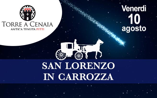 Venerdì 10 agosto 2018 – San Lorenzo in carrozza