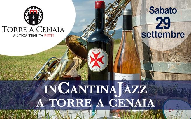 Sabato 29 settembre 2018 – InCantinaJazz a Torre a Cenaia