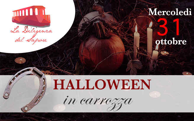 Mercoledì 31 ottobre 2018 – Halloween in carrozza