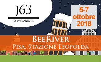 5-7 ottobre 2018 – BEERIVER, Pisa