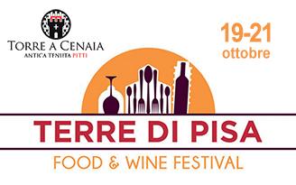 """19 – 21 ottobre 2018 – """"Terre di Pisa"""" Food&Wine Festival"""