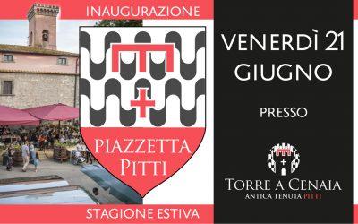 Apertura Piazzetta Pitti Stagione Estiva 2019