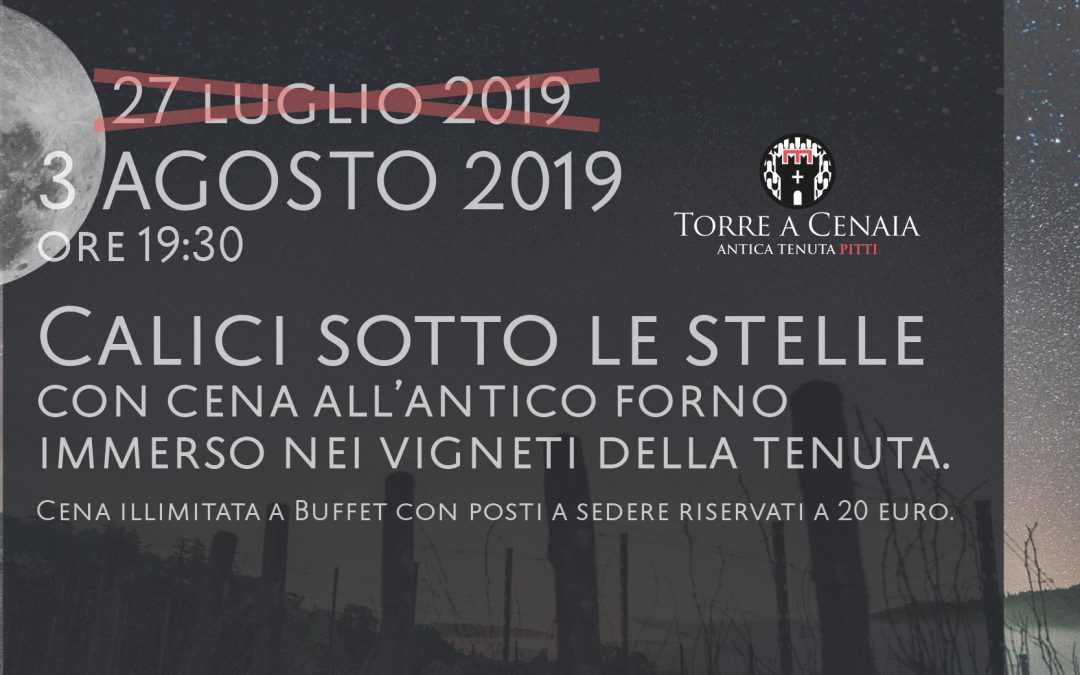 Calici di Stelle in vigna 2019