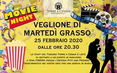 Veglione di Martedì Grasso_Movie Theme | Torre a Cenaia